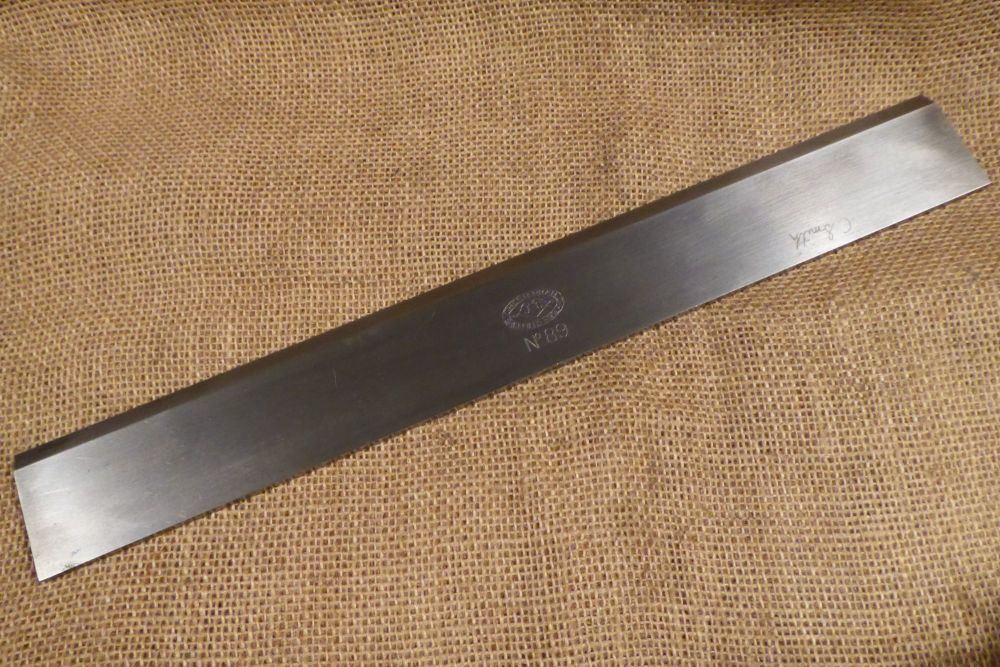"""Chesterman No.89 Straight Edge - Just Over 14"""" Length"""