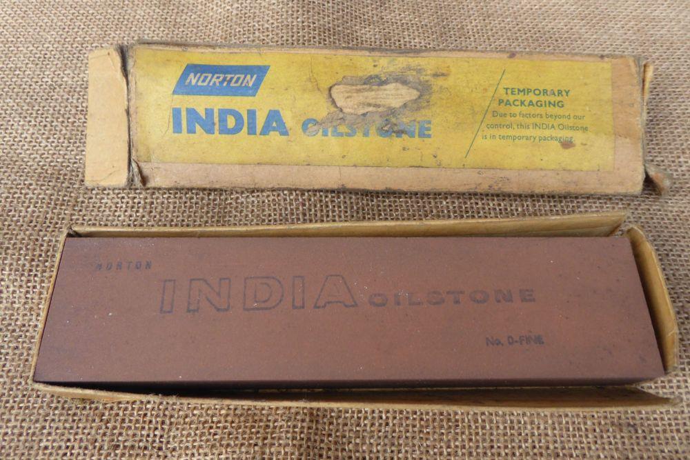 Norton India Oilstone No. 0 - Fine