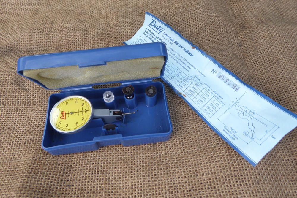 Baty Metric Dial Test Indicator