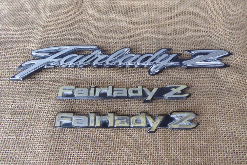 Datsun Car Badges / Emblems - Fairlady Z
