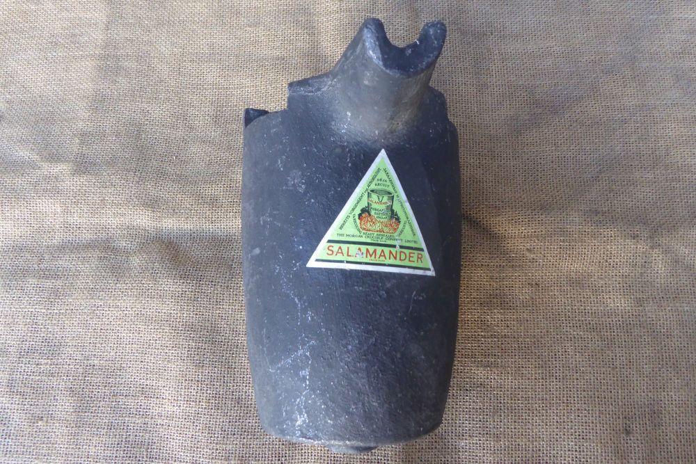 Salamander Crucible Melting Pot - Morgan Crucible Company Limited - Large Size