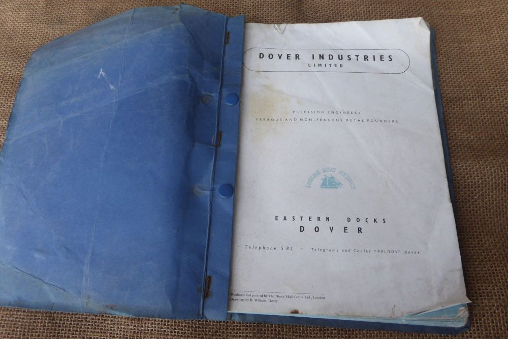 Dover Industries Limited - Manual Of Lurline Boat Fittings - Rare Catalogue