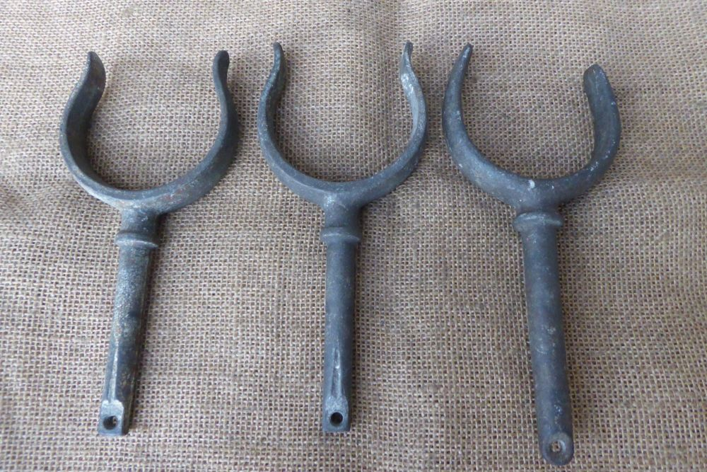 Vintage Boat Rowlocks - A Pair Plus 1 Other