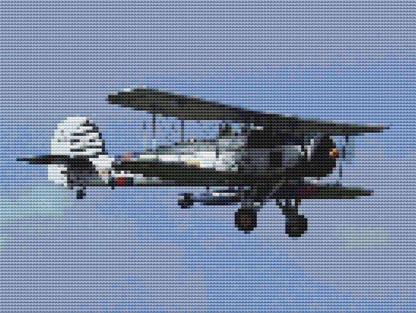 Aircraft Cross Stitch