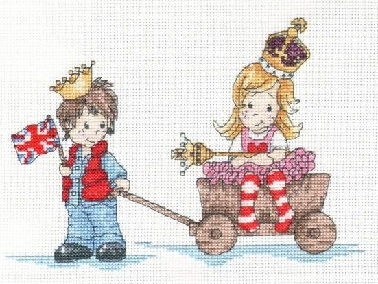 Royal Rascals Cross Stitch