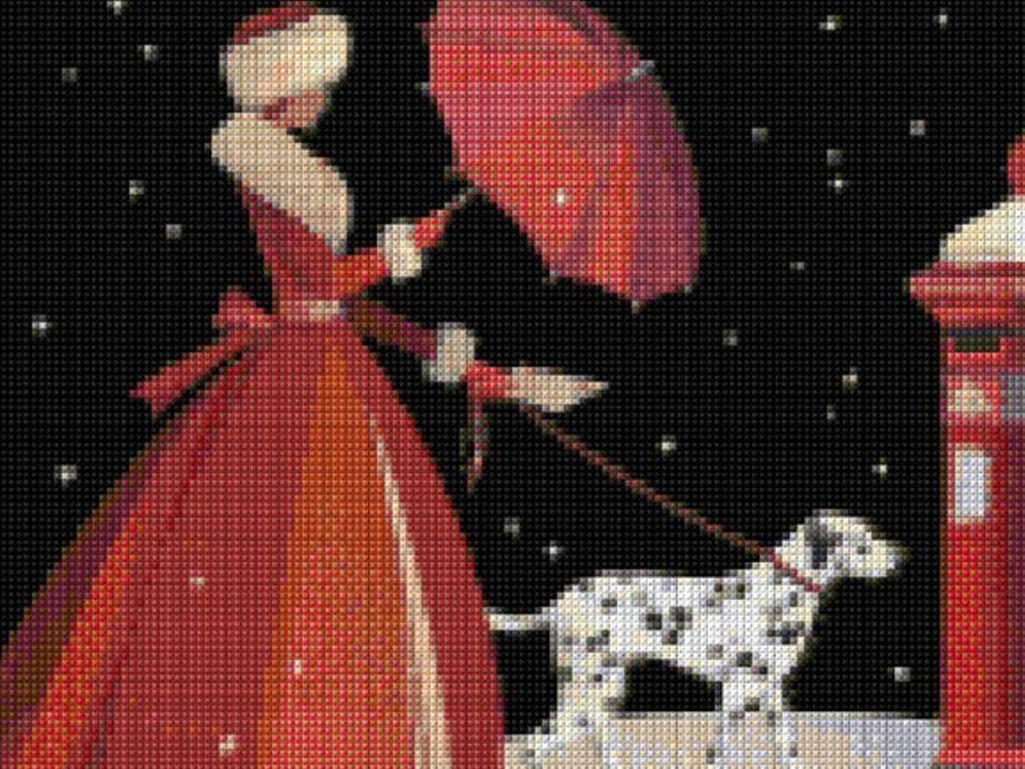 Ladies cross stitch kits