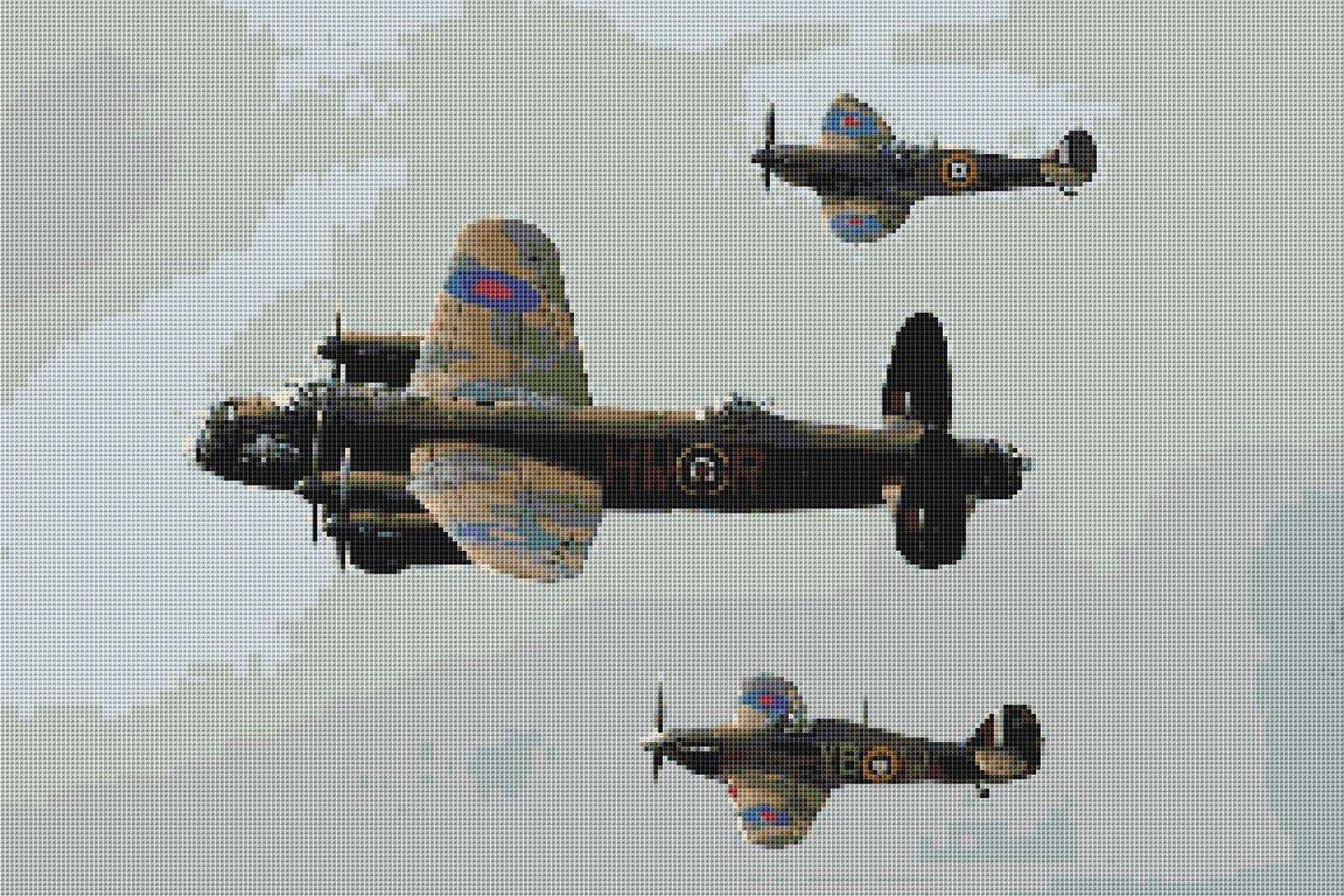 Battle of Britain Cross Stitch