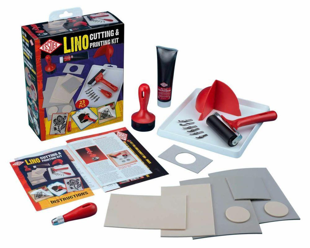 Essdee L5PKR Lino Cutting & Printing 23 Pieces