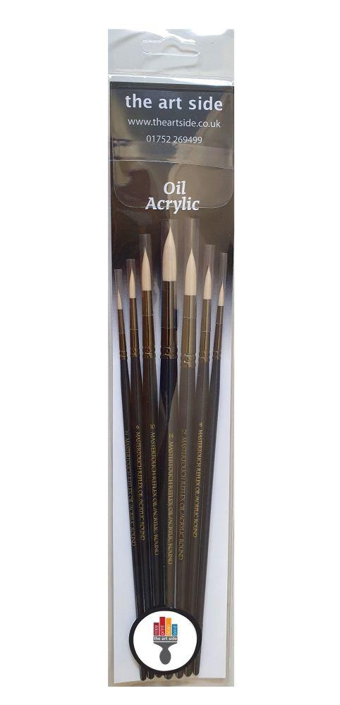 Pro Arte Mastertouch Artists 7 Brush Set - ROUND
