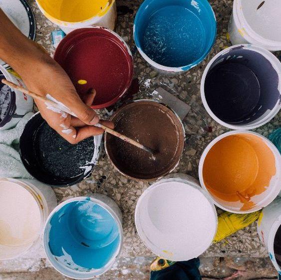 Paint, Varnishes & Canvas Panels