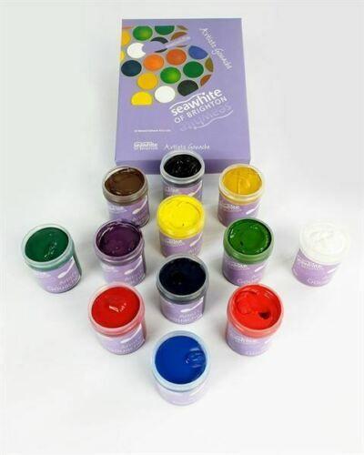 Seawhite Gouache Set Assorted Colours