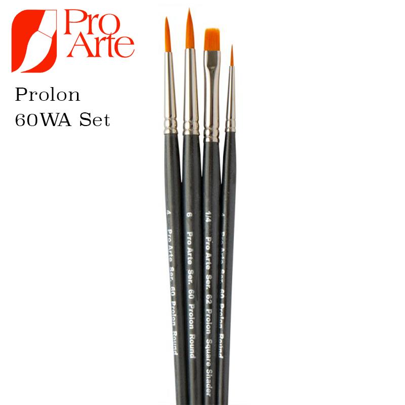 Pro Arte Prolene Brush Set 60WA