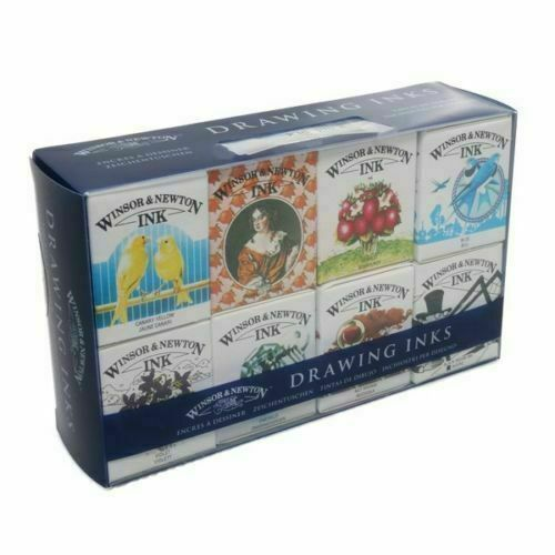 Winsor & Newton Drawing Ink Sets William & Henry Collections