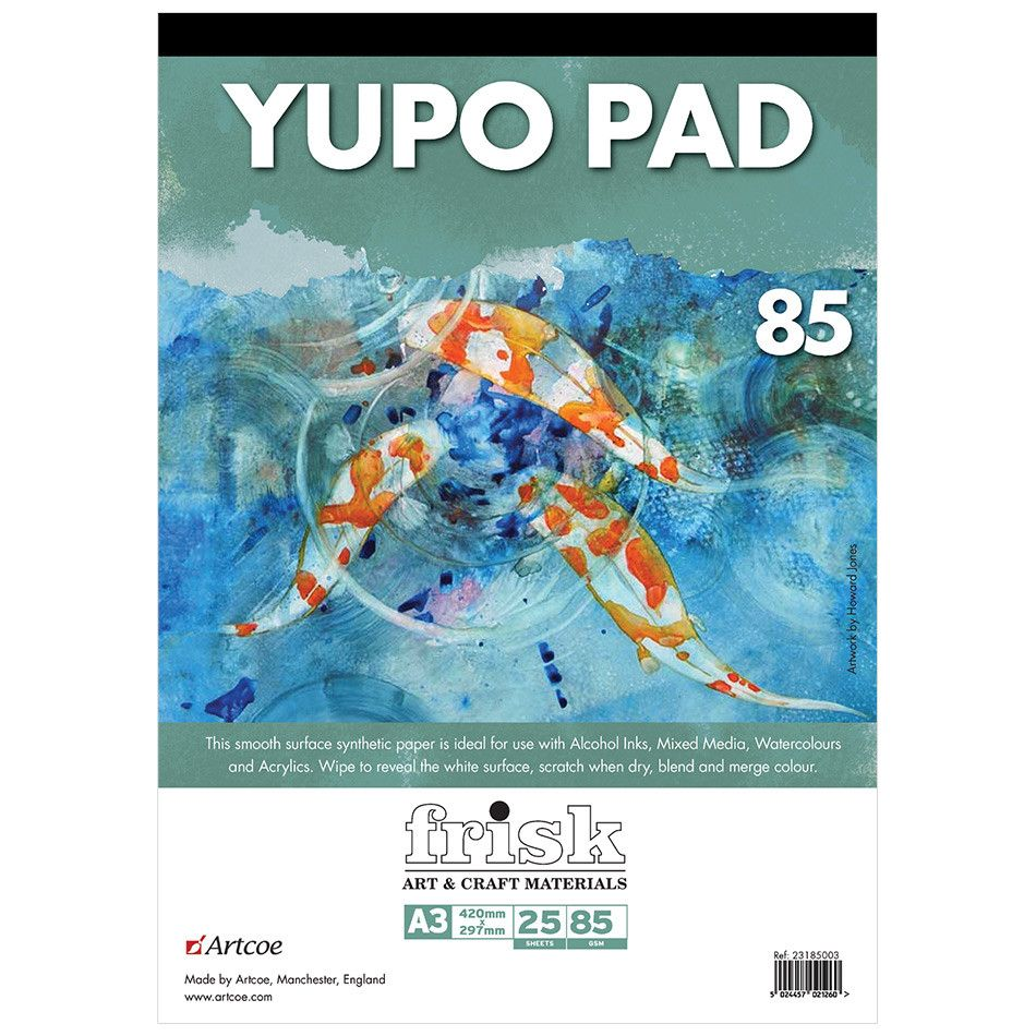 YUPO Synthetic Painting Paper - 85gsm