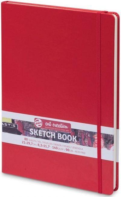 Royal Talens – Red Cover Art Creation Hardback Sketchbook – 80 Sheets - 140