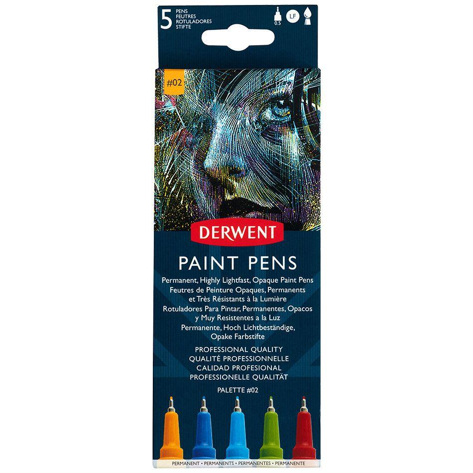 Derwent Paint Pens - Sets 1, 2, 3, or 4
