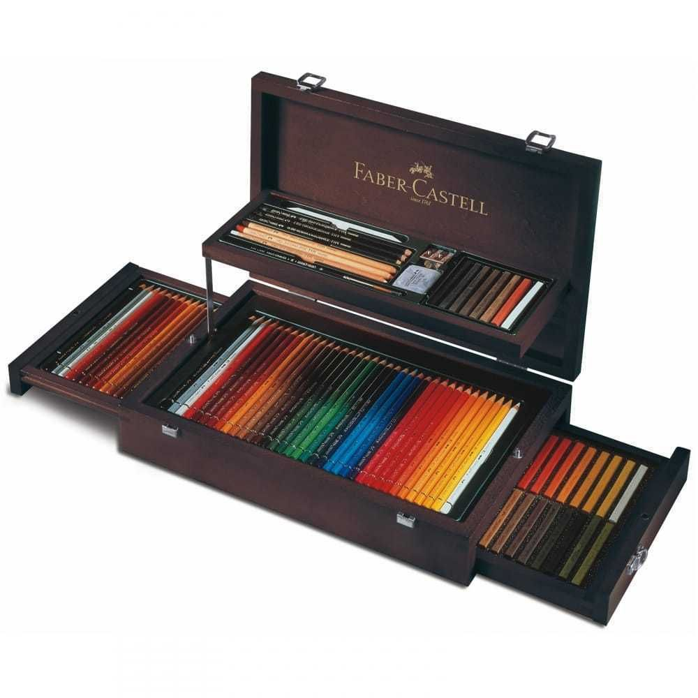 Faber-Castell - Art & Graphic Collection Wooden Case