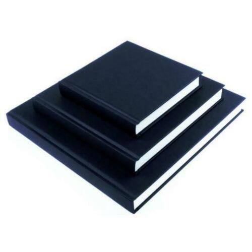 Seawhite Square & Chunky Sketchbook Black Cover