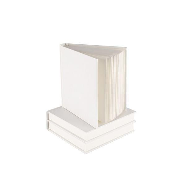 Seawhite Square & Chunky Sketchbook White Cover
