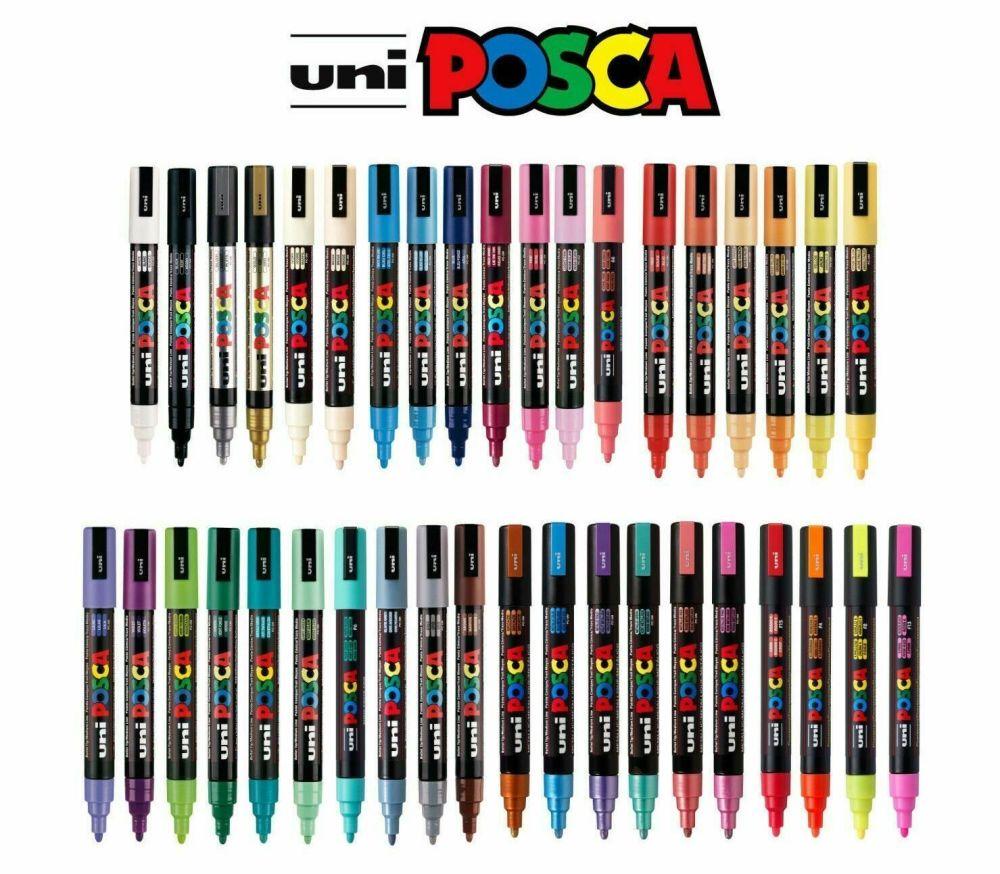 Posca PC-5M Paint Marker Pens