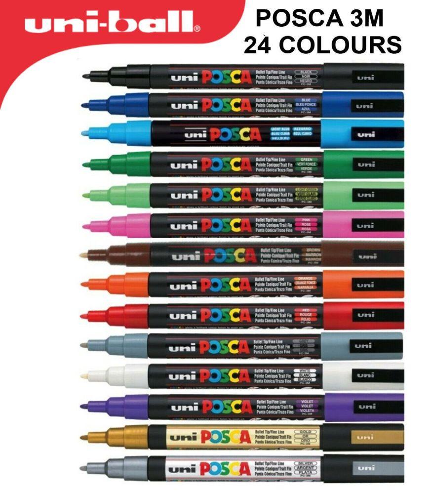 Posca PC-3M Paint Marker Pens