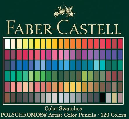 Faber Castell Polychromos Colour Pencils
