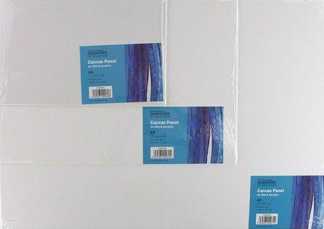 Seawhite Artist Panel Blank Canvas Boards Primed -  A5