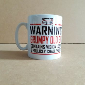 Grinfactor Warning Grumpy old git contains vision loss & follicly challenged