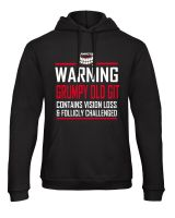 C - Grinfactor Grumpy Old Git Contains Vision Loss & Follicly challenged Hoodie