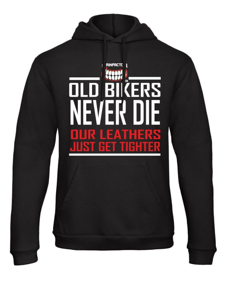 F - Grinfactor Old Bikes never Die Hoodie