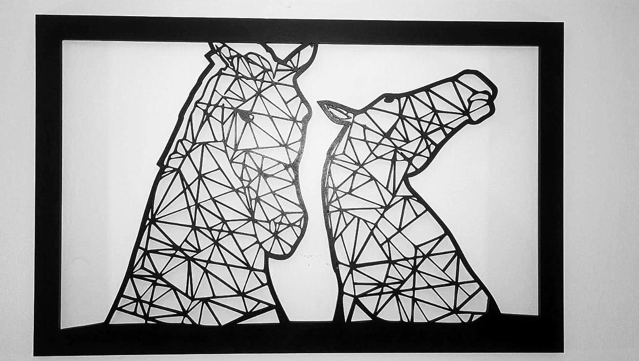 Falkirk Kelpies Wall Art