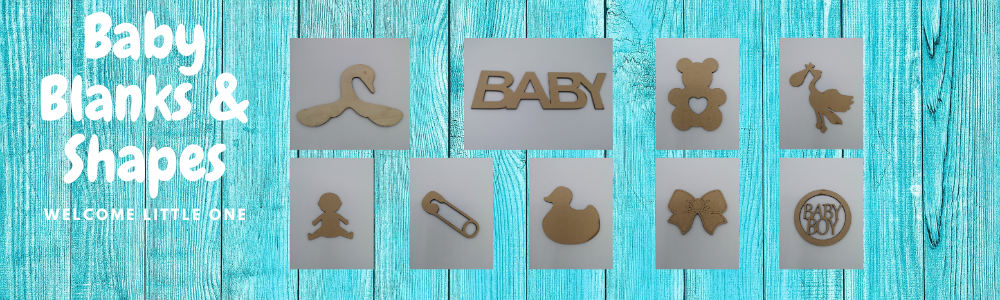 BABY BLANKS AND SHAPES