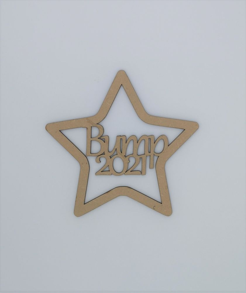 Baby Bump Star - Crafting