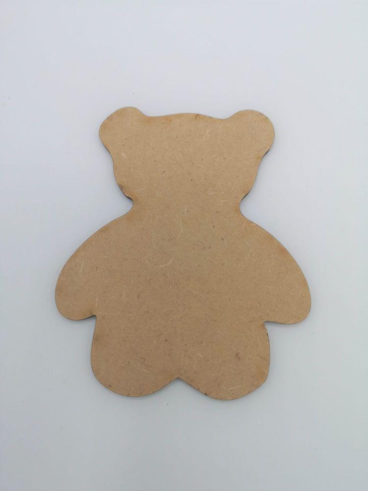Baby Teddy Blank Craft Shape