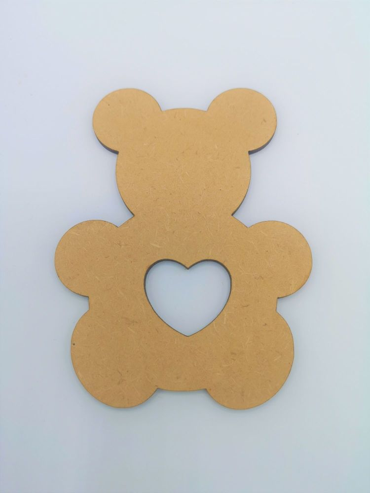 Baby Teddy Cut Out Blank Craft Shape