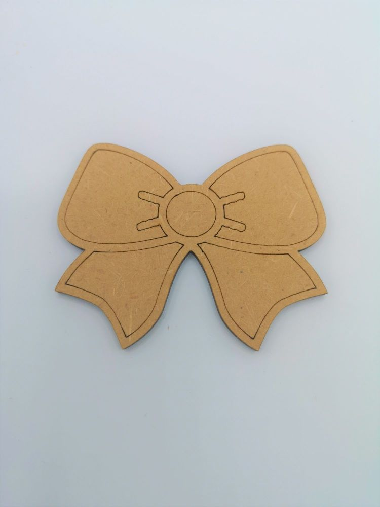 Baby Bow Blank Craft Shape