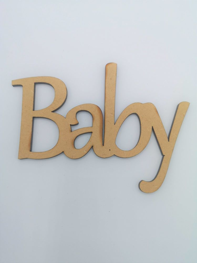 Joined Baby Lettering for Crafting - Lowercase