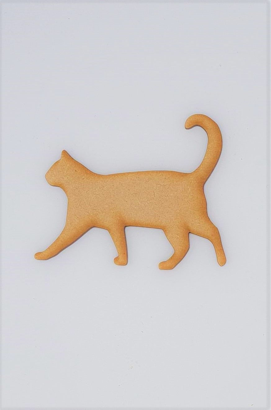 Wooden Cat - Craft Shape