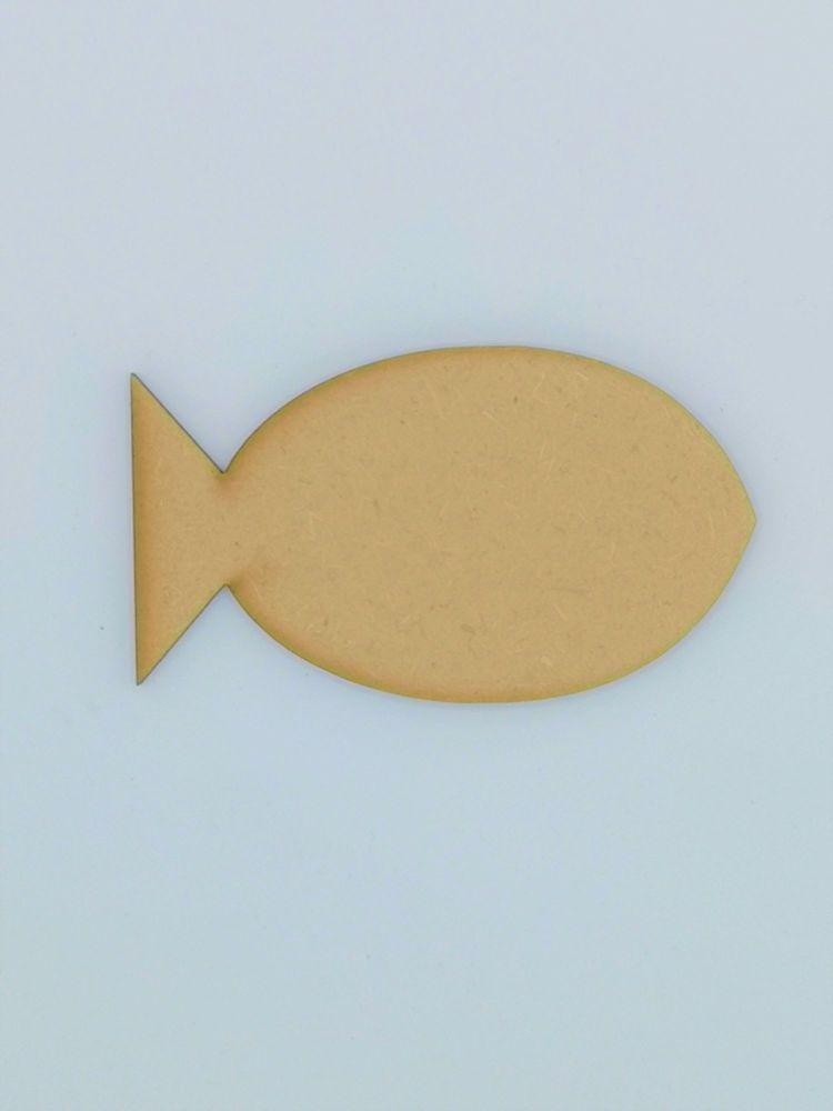 Wooden Fish - Craft Shape