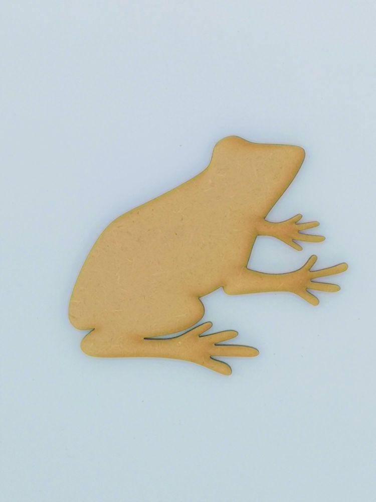 Wooden Frog - Craft Shape
