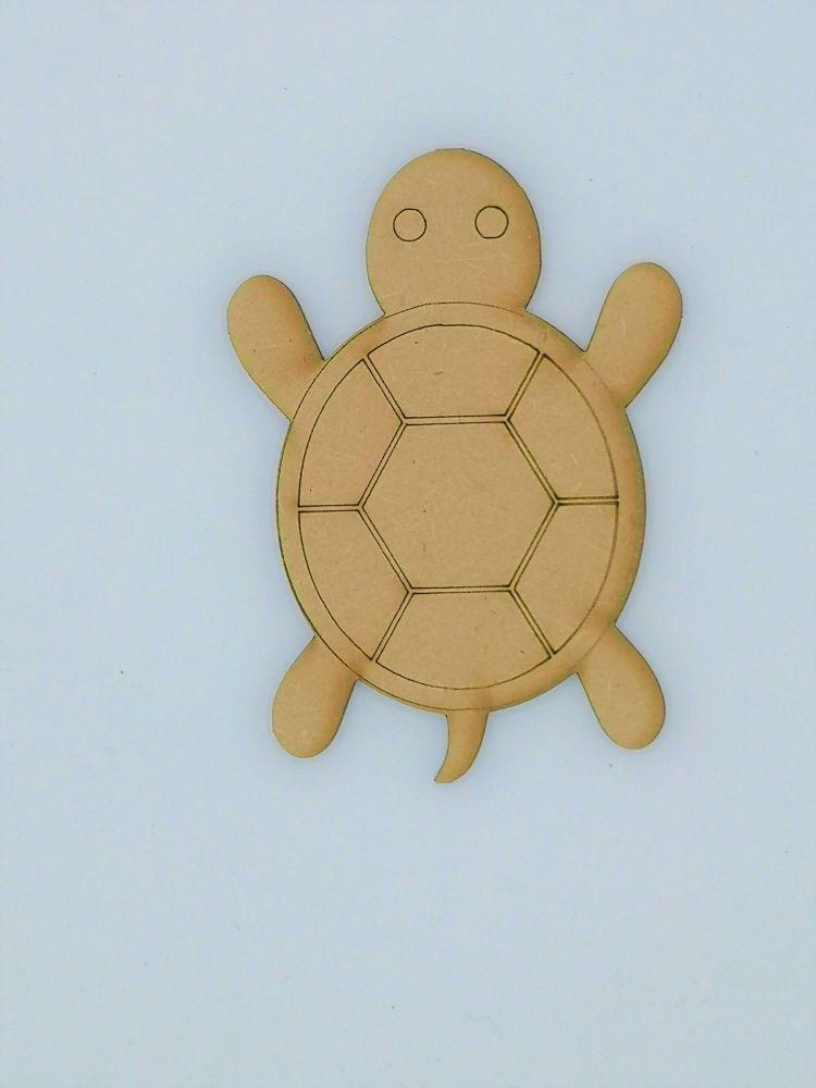 Wooden Turtle - Craft Shape
