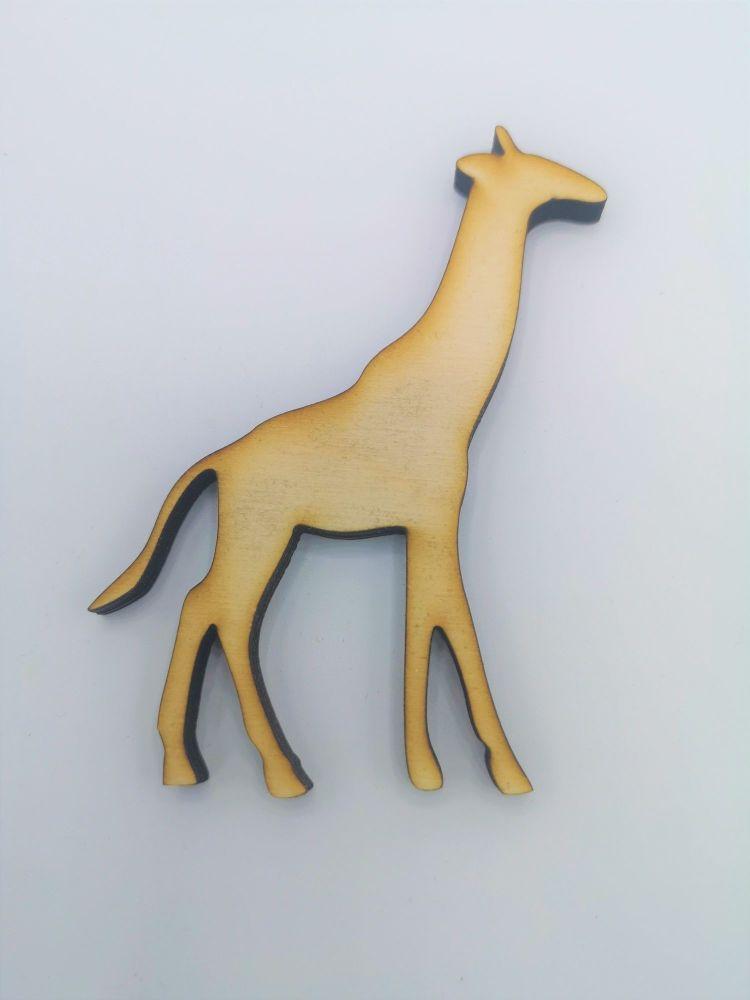 Wooden Giraffe - Craft Shape