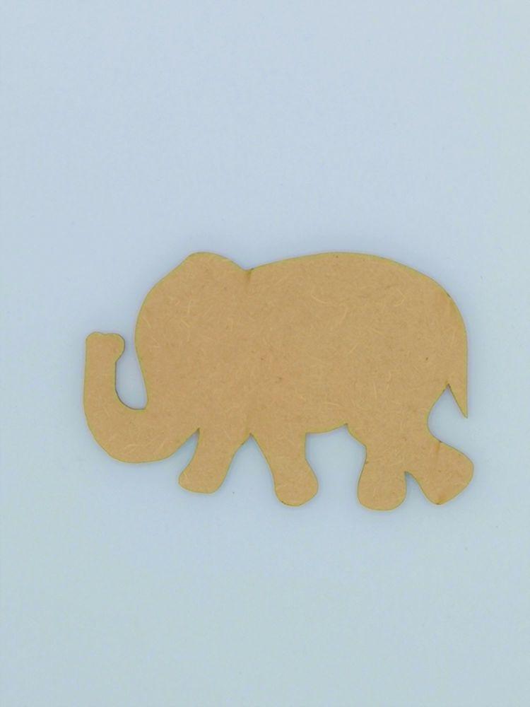 Wooden Elephant - Craft Shape