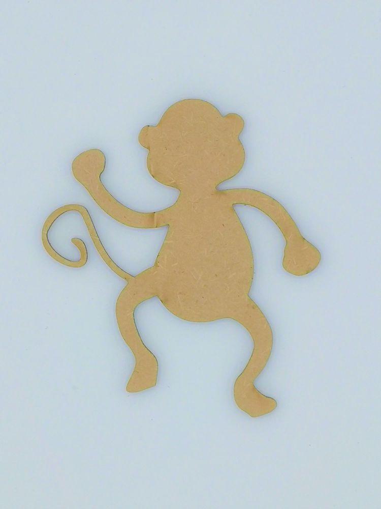 Wooden Monkey - Craft Shape