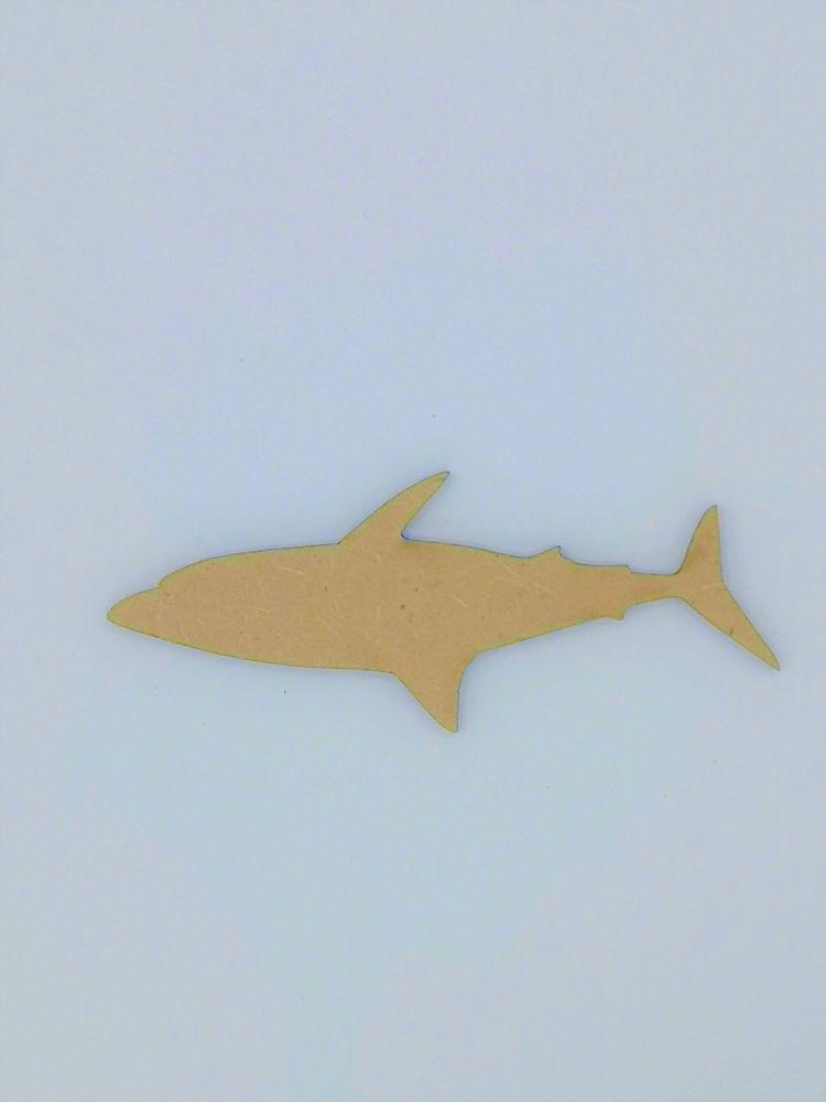 Wooden Shark - Craft Shape