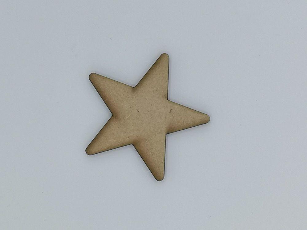 Wooden Star - Craft Shape