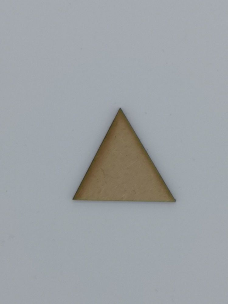Wooden Triangle - Craft Shape