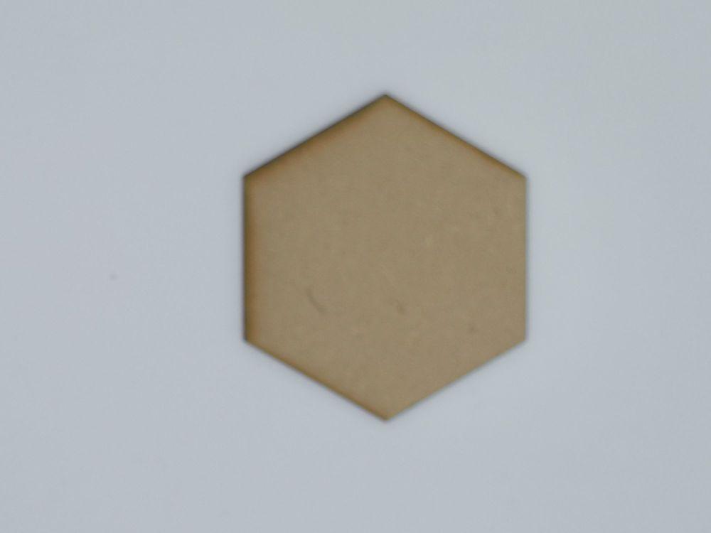 Wooden Hexagon - Craft Shape