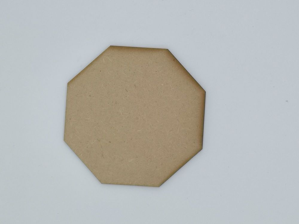 Wooden Octagon - Craft Shape