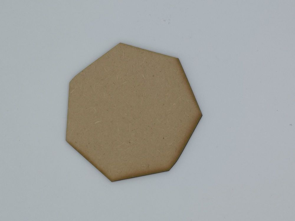 Wooden Heptagon - Craft Shape